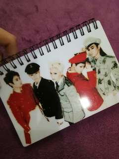 Shinee notebook