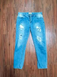Light Tattered Jeans