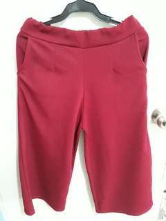Red pedal cotton