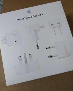 Apple World Travel Adapter Kit 旅行轉插