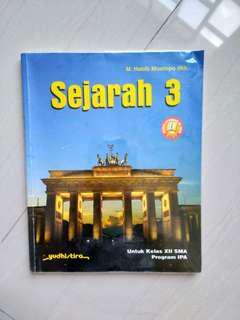 Buku cetak sejarah kelas 3 / XII SMA program IPA KTSP 2006