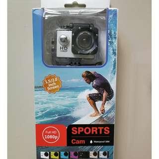 1080p Sports Cam Waterproof 30m