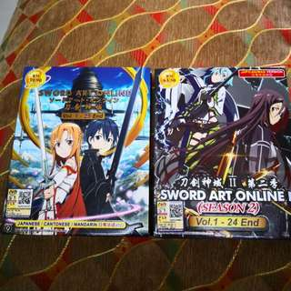 Swords Art Online Anime Season 1&2