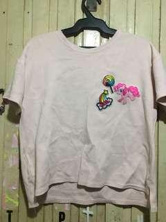 Korean Pink Croptop