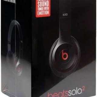 Beats by Dre Solo2 winter headphones