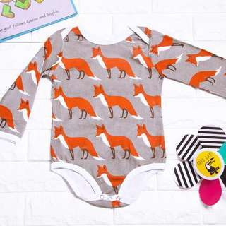 🚚 Instock - fox romper, spring summer 2018 collection