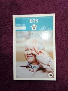 Bts RM photocard