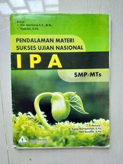 Soal latihan ujian nasional IPA SMP KTSP 2006.