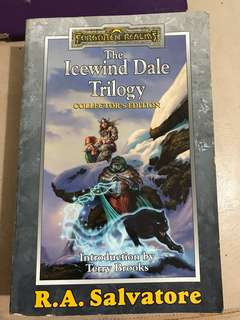 R.A. Salvatore Forgotten Realms: The Icewind Dale Trilogy