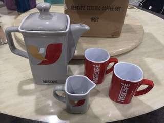 Nescafe sepcial edition ceremic coffee set