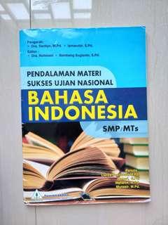 Soal prediksi ujian nasional Bahasa Indonesia SMP KTSP 2006