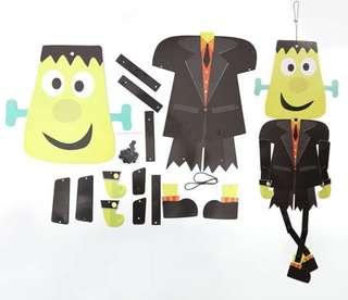 PRE-ORDER: Halloween DIY Paper Zombie Decoration