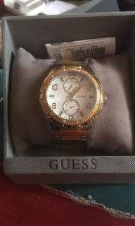 Pre loved orig two tone Guess Watch