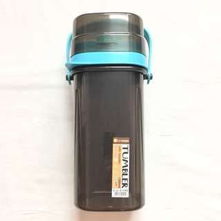 [NEW] Tumbler with Handle (Blue)