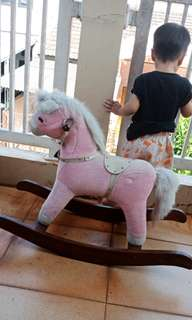 Pinky horse
