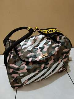Clevanka bag (camo-stripes)