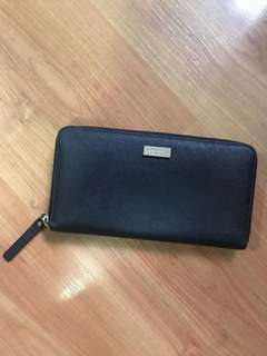 [De-cluttering Sale] Genuine Pre-Loved Kate Spade Black Leather Wallet