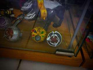 Kamen rider Wizard DX Movie Ring Set