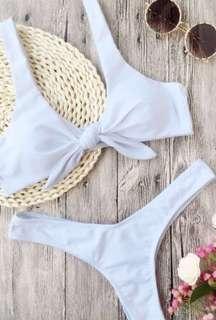 Zaful knot bikini