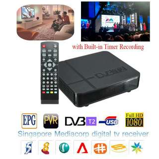 MediaCorp Digital TV Box (DVB-T2)