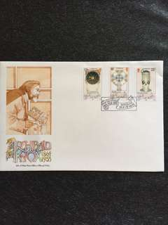 Isle of Man 1989 Archibald Knox FDC stamps