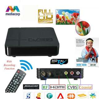 Digital TV Tuner Set Top Box (DVB-T2)