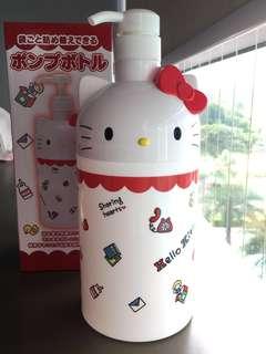 BN Sanrio Hello Kitty Dispenser Bottle