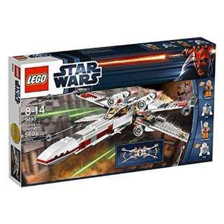 Leeogel Lego Star Wars 9493 X-Wing Starfighter - New In Sealed Box