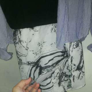🚚 (含運100)襯衫+連身褲
