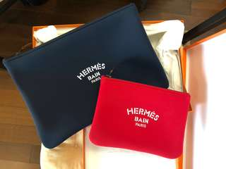 Hermes pouch/ clutch