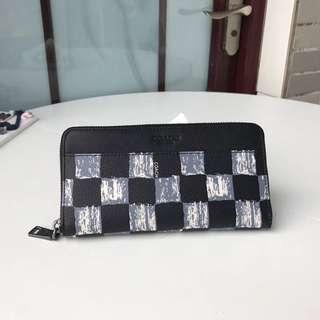 【COACH代購館】美國代購COACH 22542 格子拼色男士長夾 錢包 手拿包 皮夾  挑戰網絡最低價