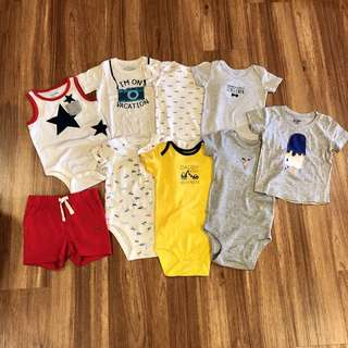 Assorted Baby Boys Clothes, 12 Months / 1 Year