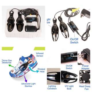 ( Pre- Order) UltraViolet Light Shoe Sterilizer/Deodorant