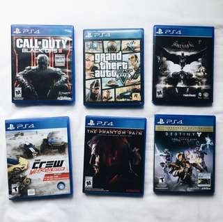 [PS4] Games Bundle