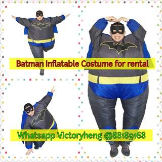 Batman Inflatable Costume for rental