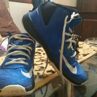 Authentic Nike blue rubber shoes