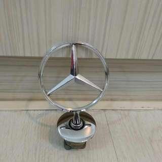 Bonnet Star Emblem Ornament Badge Mercedes-Benz $28 Or Best Offer!