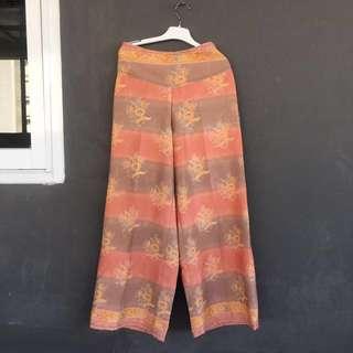 Celana Batik Oren
