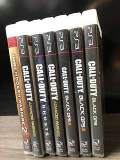 PS3 Games - COD