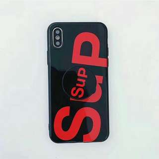 Black Red Supp Case (iph only)