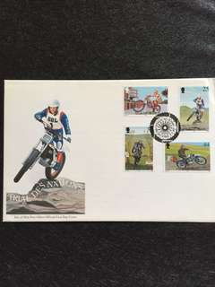 Isle of Man 1997 Motorbikes FDC stamps