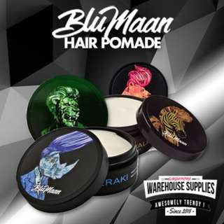 🚚 Blumaan Original Meraki Cavalier Clay Monarch Wax Pomade