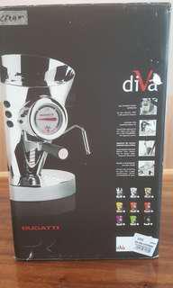 Bugatti Diva Coffee Machine