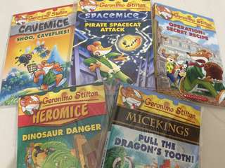 Geronimo Stilton paperback series