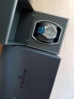 Edox watch swiss made