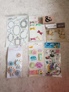 Scrapbooking items destash