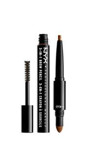 NYX Professional Makeup Professional Make Up 3 In 1 Brow Auburn