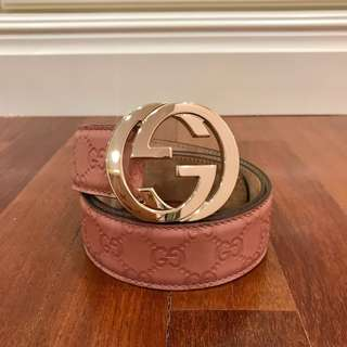 Gucci G Buckle Belt