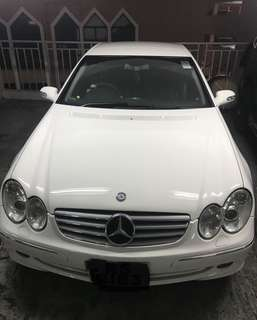 MERCEDES-BENZ CLK240 04年