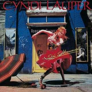 LP Vinyl UK 1st Pressed 1983 Cyndi Lauper – She's So Unusual Album